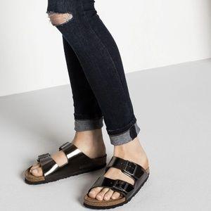 Birkenstock Arizona Soft Footbed Leather Sandals